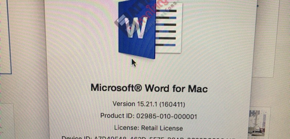 ติดตั้ง Microsoft® Office for Mac 2016